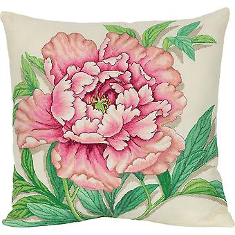 Panna Cross Stitch Kit : Vintage Peony