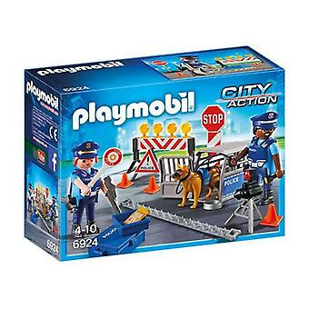 Playset City Action Police Playmobil 6924