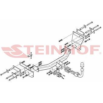 Automatyczny odłączany pasek holowniczy Steinhof (poziomy) do Chrysler SEBRING 2007-2010