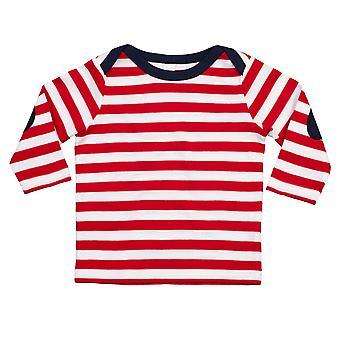 Babybugz Unisex Bebek Uzun Kollu Çizgili T-Shirt
