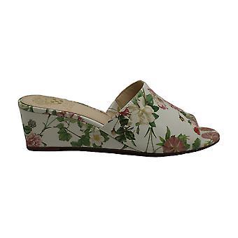 Vince Camuto naisten Stephena nahka avoin toe rento Slide sandaalit