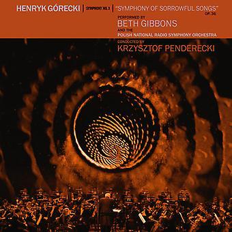 Henryk Gorecki: Symphony No. 3 [CD] USA import