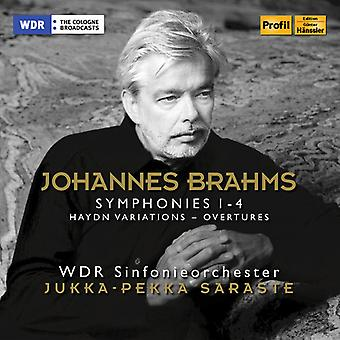 Brahms / Wdr Symphony Orch - Symphonies 1 & 4 [CD] USA import