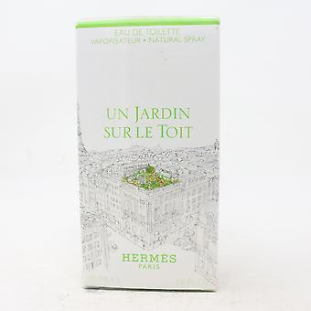 Un Jardin Sur Le Toit par Hermes Eau De Toilette 1.6oz/50ml Spray New With Box
