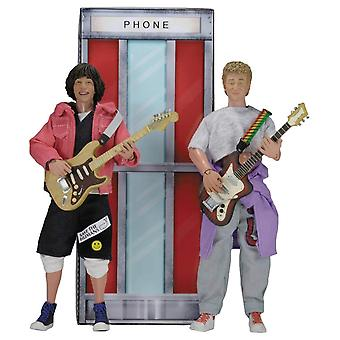 "NECA Bill And Ted'S Excellent Adventure 8"" Clothed Figure 2-Pack"