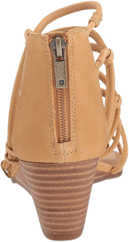 Lucky Brand Women's JILSES Wedge Sandal, Light Desert, 5.5 M US