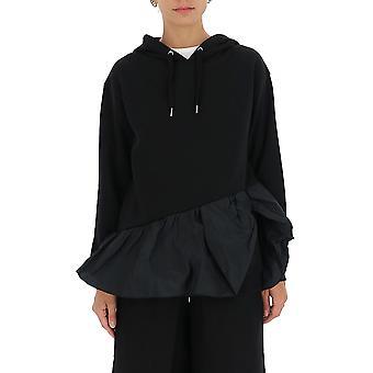 Red Valentino Ur3mf04m5bc0no Women's Black Cotton Sweatshirt