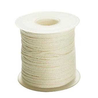 Cotton Braid Candle Wick - Environmental Spool Of Cotton Braid Candle Wick Core
