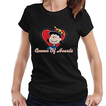 Erdnüsse Lucy Van Pelt Königin der Herzen Frauen's T-Shirt