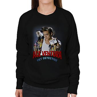 Ace Ventura Pet Detective Monkey And ID Card Women's Sweatshirt