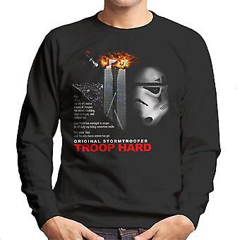 Original Stormtrooper Troop Hard Parody For Dark Men's Sweatshirt