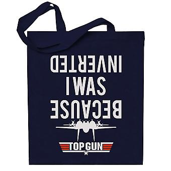 Porque estaba invertido Top Gun Totebag