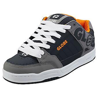 Globe Tilt Herren Skate Trainer in grau Navy Orange
