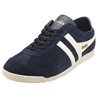 Gola Bullet Mens Casual Trainers in Navy White