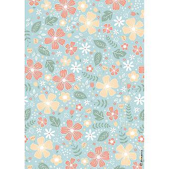Stamperia Riisi paperi kukat
