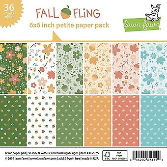 Lawn Fawn Fall Fling Petite 6x6 Inch Paper Pack