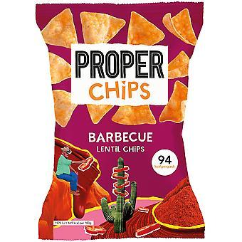Proper Chips Barbecue Lentil Chips