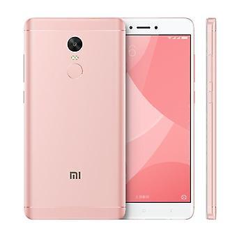 älypuhelin Xiaomi Redmi Huomautus 4X 3/16GB vaaleanpunainen