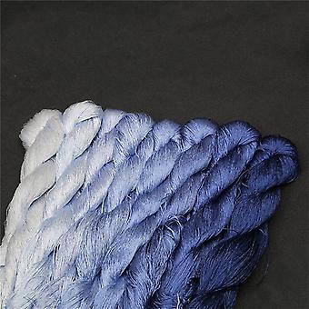 Bordado hilo de seda de Spiraea - pequeños palos de bordado de mano y cruz