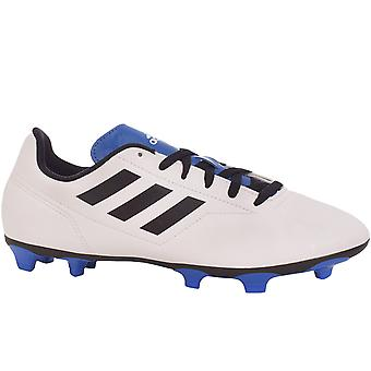 adidas Performance Boys Conquisto II Firm Ground Football Training Boots - White
