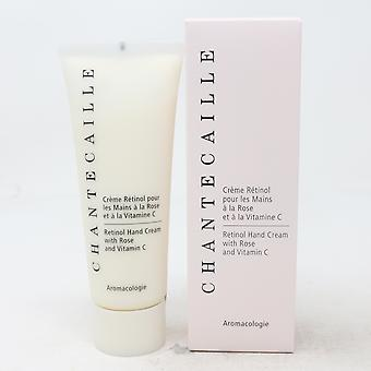 Chantecaille Retinol Hand Cream With Rose And Vitamin C 2.54oz  New With Box