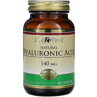 LifeTime Vitamins, Natural Hyaluronic Acid, 140 mg, 60 Capsules
