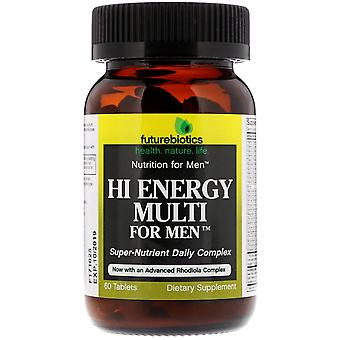 FutureBiotics, Hi Energy Multi, For Men, 60 Tablets