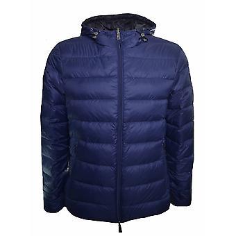 Armani Jeans miesten tummansininen palautuva pallokala takki