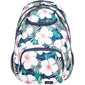 Roxy Shadow Swell Printed Backpack in Mood Indigo Grange Fleur
