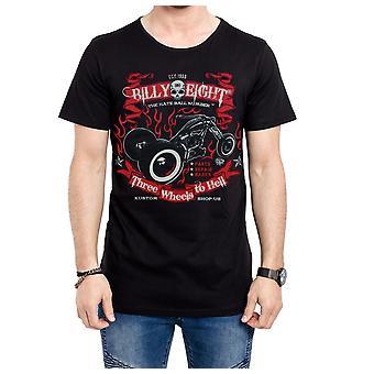 Billy eight - three wheels - t-shirt