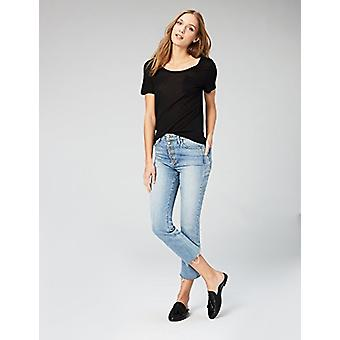 Brand - Daily Ritual Women's Super Soft Modal Semi-Sheer Pocket T-Shir...