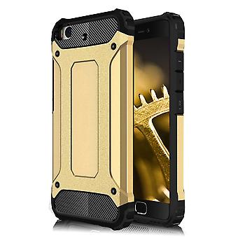 Shell for Xiaomi Mi 5s Hard Armor Protection Gold TPU Case
