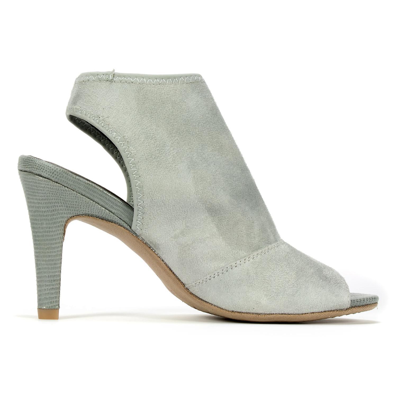 Rialto Womens Reanne Fabric Peep Toe Casual Slingback Sandals