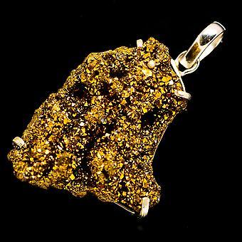 Gold Druzy Pendant 2