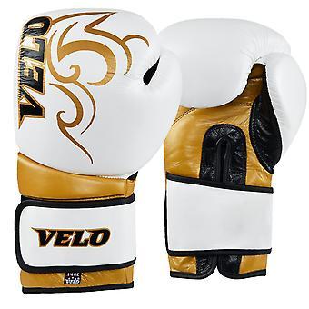 VELO Gel Leather Boxing Gloves PR9