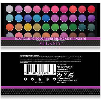 SHANY Boutique 40 paleta de cores