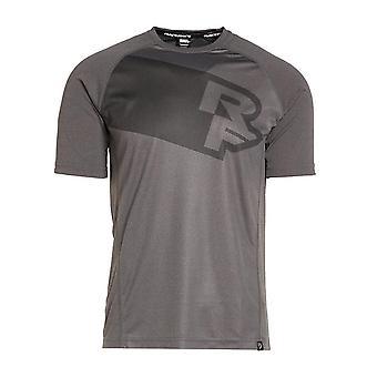 Nou RACEFACE Men's Trigger Sleeve Short Sleeve Jersey Grey
