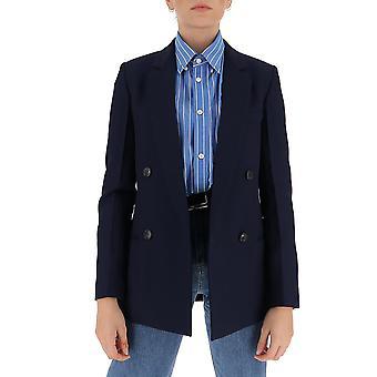 Victoria Beckham 1320wjk001572a Femmes-apos;s Blazer en laine bleue