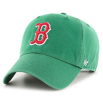 47 Brand Relaxed Fit Cap - CLEAN UP Boston Red Sox kelly