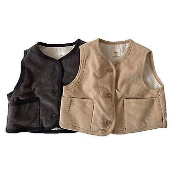 Kids Vest Autumn, Outerwear Waistcoat/