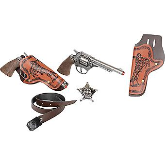 CAP GUN - 158/0 - Gonher Wild-West Set 8 Shots