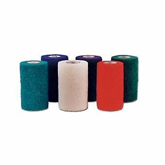 Andover Coated Products Cohesive Bandage CoFlex NL 1 Inch X 5 Yard Standard Compression Self-adherent Closure Teal / Blue /, Case of 30