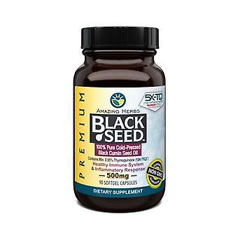 Erstaunliche Kräuter Schwarze Samen, 90 Sftgl