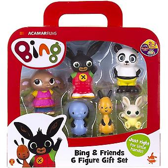 Bing and friends 6 figure set includes fun figures for 18 months - 6 years