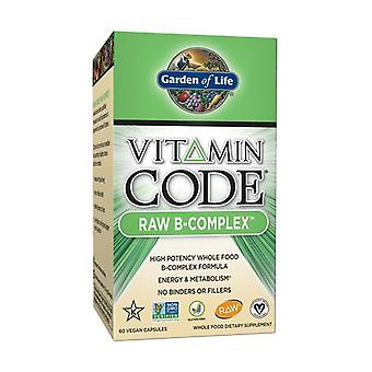Vitamin code RAW B-Complex 60 vegetable capsules
