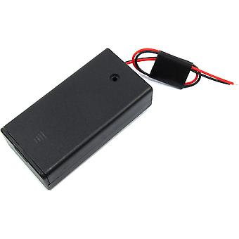 2xAA Battery Box with Switch