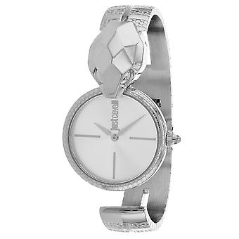 Just Cavalli Women's Glam Chic Snake Silver Dial Watch - JC1L058M0015