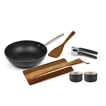 HOLM Gaveæske med wok og tilbehør