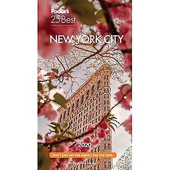 Fodor's New York City 25 Best 2020 (Full-color Travel Guide)
