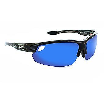 Desoto - unisex triple lens interchangable sports wrap sunglasses